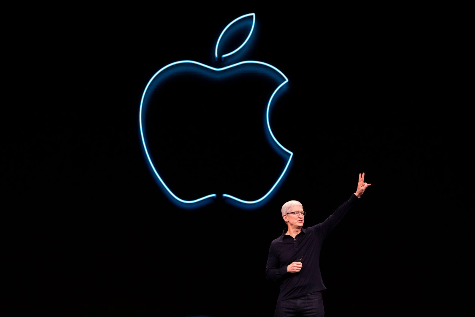 Time Cook at Apple